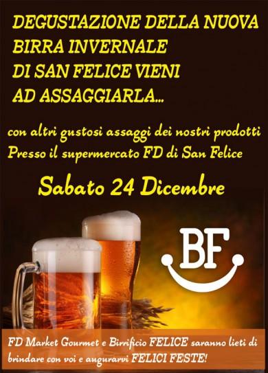 Degustazione nuova birra invernale di San Felice